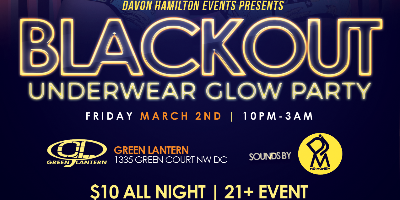 Blackout: Underwear Glow Party